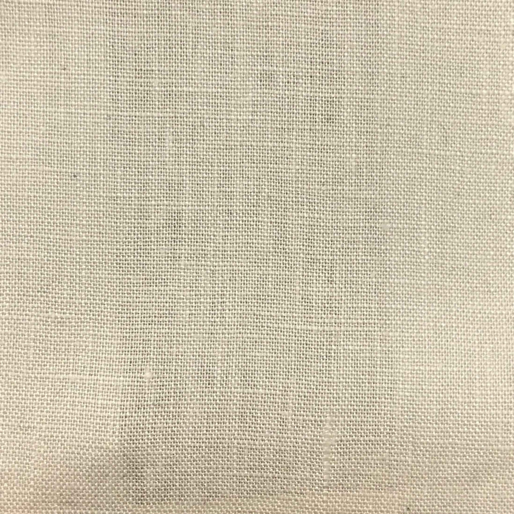 Brighton - 100% Linen Fabric Window Curtain & Drapery Fabric by the Yard - Available in 48 Colors - Fawn - Top Fabric - 43