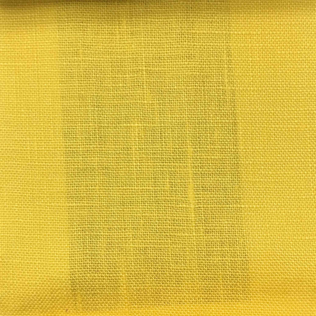 Brighton - 100% Linen Fabric Window Curtain & Drapery Fabric by the Yard - Available in 48 Colors - Marigold - Top Fabric - 14