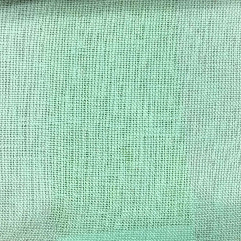 Brighton - 100% Linen Fabric Window Curtain & Drapery Fabric by the Yard - Available in 48 Colors - Milk Glass - Top Fabric - 37