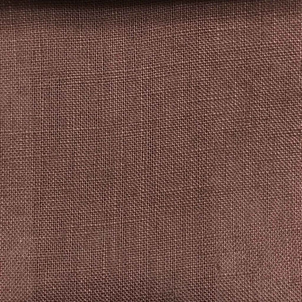 Brighton - 100% Linen Fabric Window Curtain & Drapery Fabric by the Yard - Available in 48 Colors - Napa - Top Fabric - 11