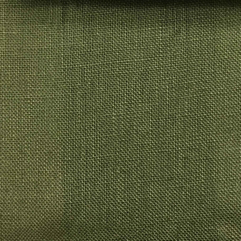 Brighton - 100% Linen Fabric Window Curtain & Drapery Fabric by the Yard - Available in 48 Colors - Oregano - Top Fabric - 40