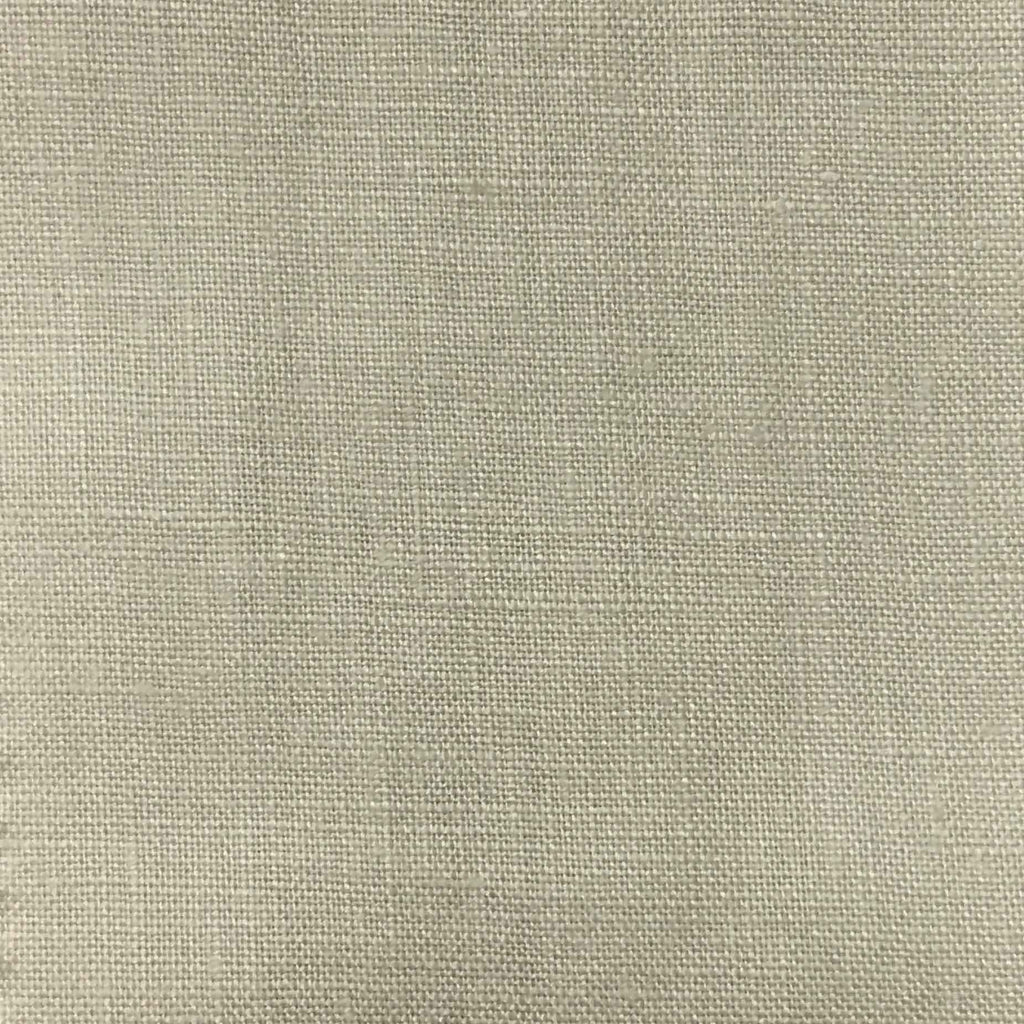 Brighton - 100% Linen Fabric Window Curtain & Drapery Fabric by the Yard - Available in 48 Colors - Sand - Top Fabric - 44
