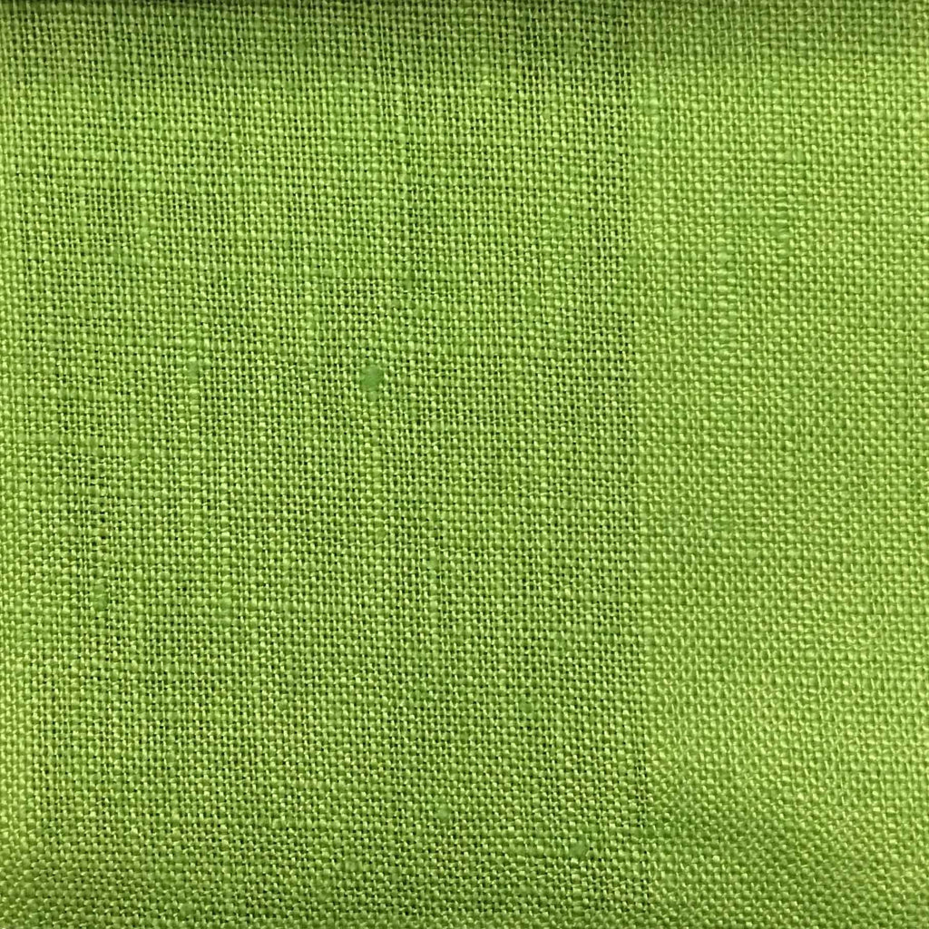 Brighton - 100% Linen Fabric Window Curtain & Drapery Fabric by the Yard - Available in 48 Colors - Spring - Top Fabric - 39