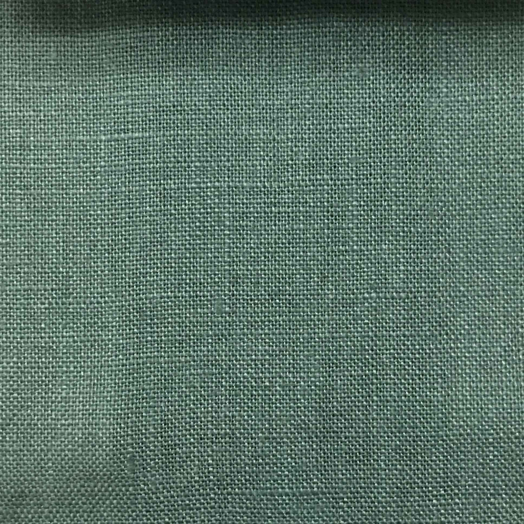 Brighton - 100% Linen Fabric Window Curtain & Drapery Fabric by the Yard - Available in 48 Colors - Storm - Top Fabric - 28