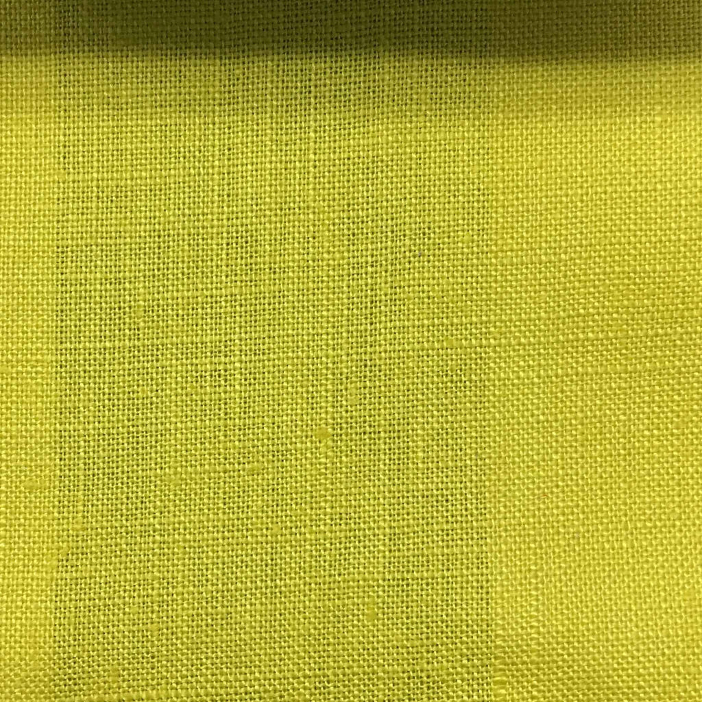 Brighton - 100% Linen Fabric Window Curtain & Drapery Fabric by the Yard - Available in 48 Colors - Wheatgrass - Top Fabric - 15