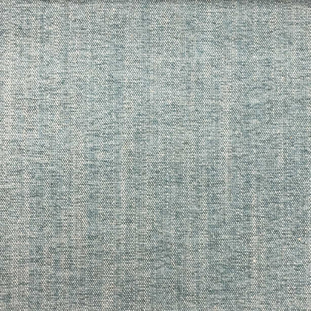 Bronson - Linen Polyester Blend Textured Chenille Upholstery Fabric by the Yard - Available in 25 Colors - Capri - Top Fabric - 3