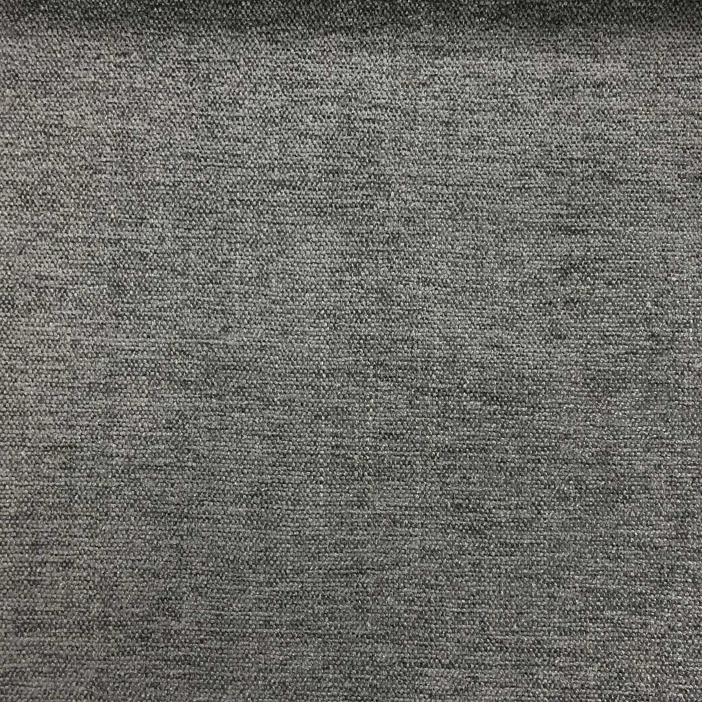Bronson - Linen Polyester Blend Textured Chenille Upholstery Fabric by the Yard - Available in 25 Colors - Dolphin - Top Fabric - 25
