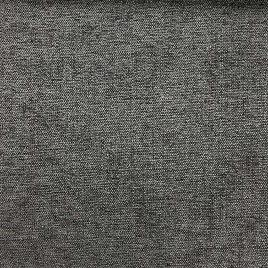 Bronson - Linen Polyester Blend Textured Chenille Upholstery Fabric by the Yard - Available in 25 Colors - Otter - Top Fabric - 24