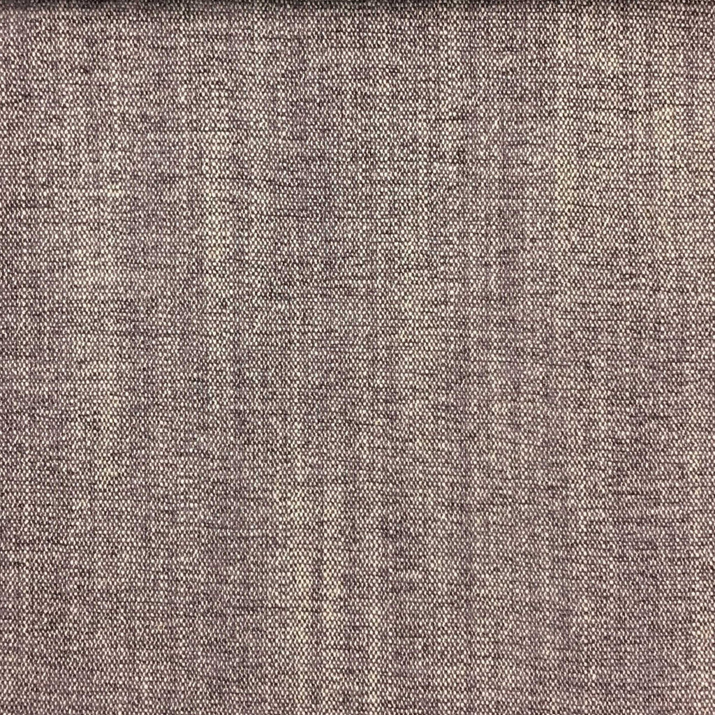 Bronson - Linen Polyester Blend Textured Chenille Upholstery Fabric by the Yard - Available in 25 Colors - Amethyst - Top Fabric - 22