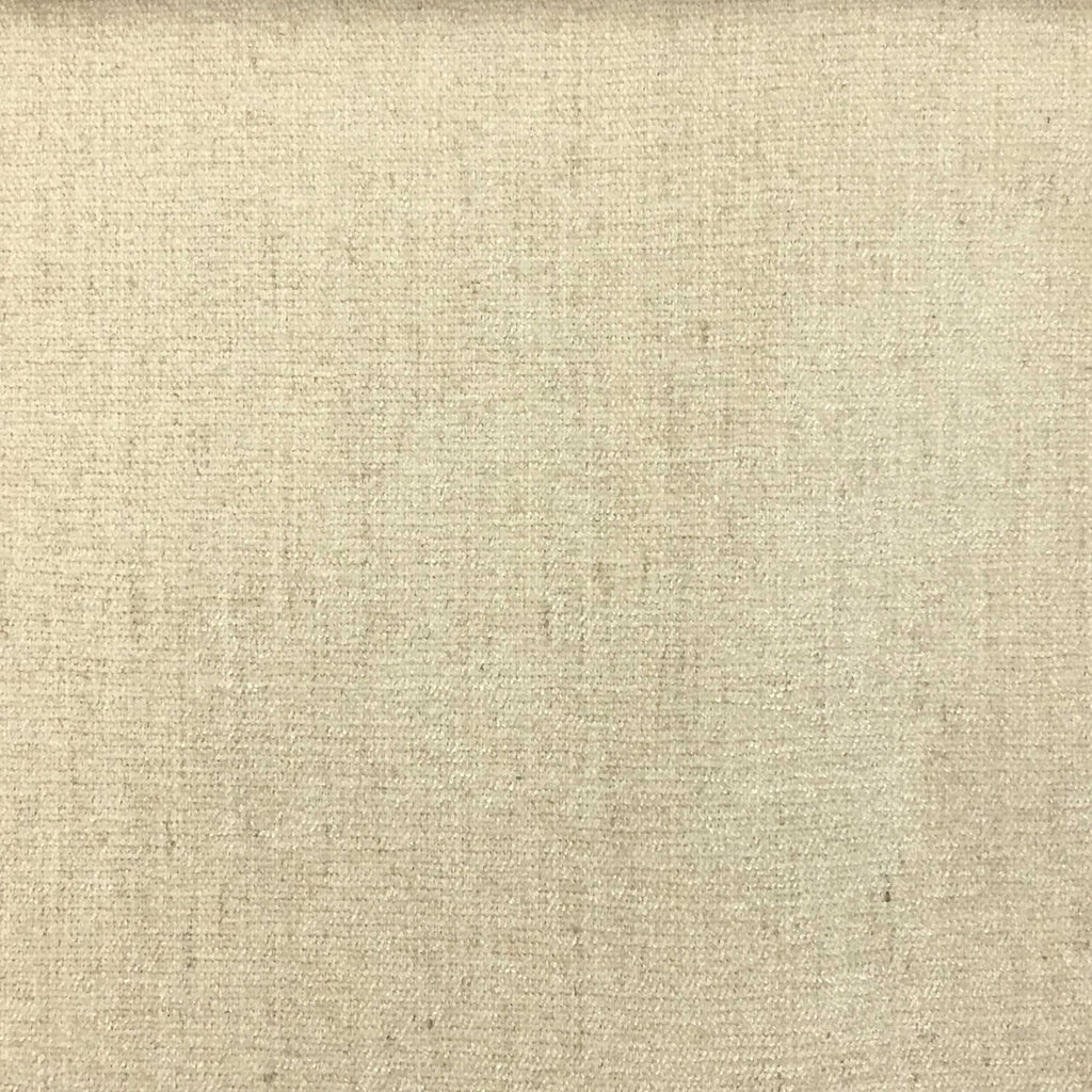 Bronson - Linen Polyester Blend Textured Chenille Upholstery Fabric by the Yard - Available in 25 Colors - Beach - Top Fabric - 18