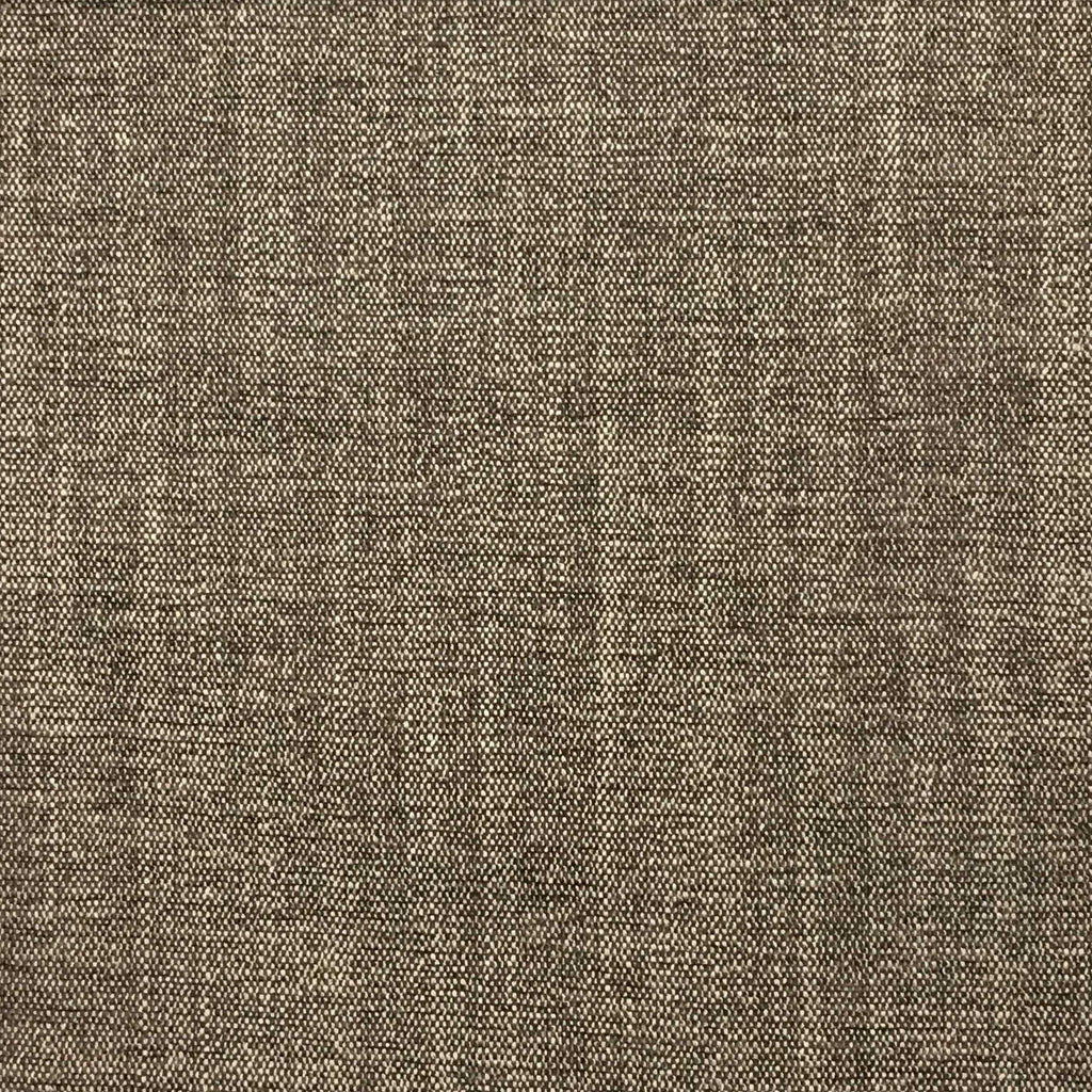 Bronson - Linen Polyester Blend Textured Chenille Upholstery Fabric by the Yard - Available in 25 Colors - Earth - Top Fabric - 12