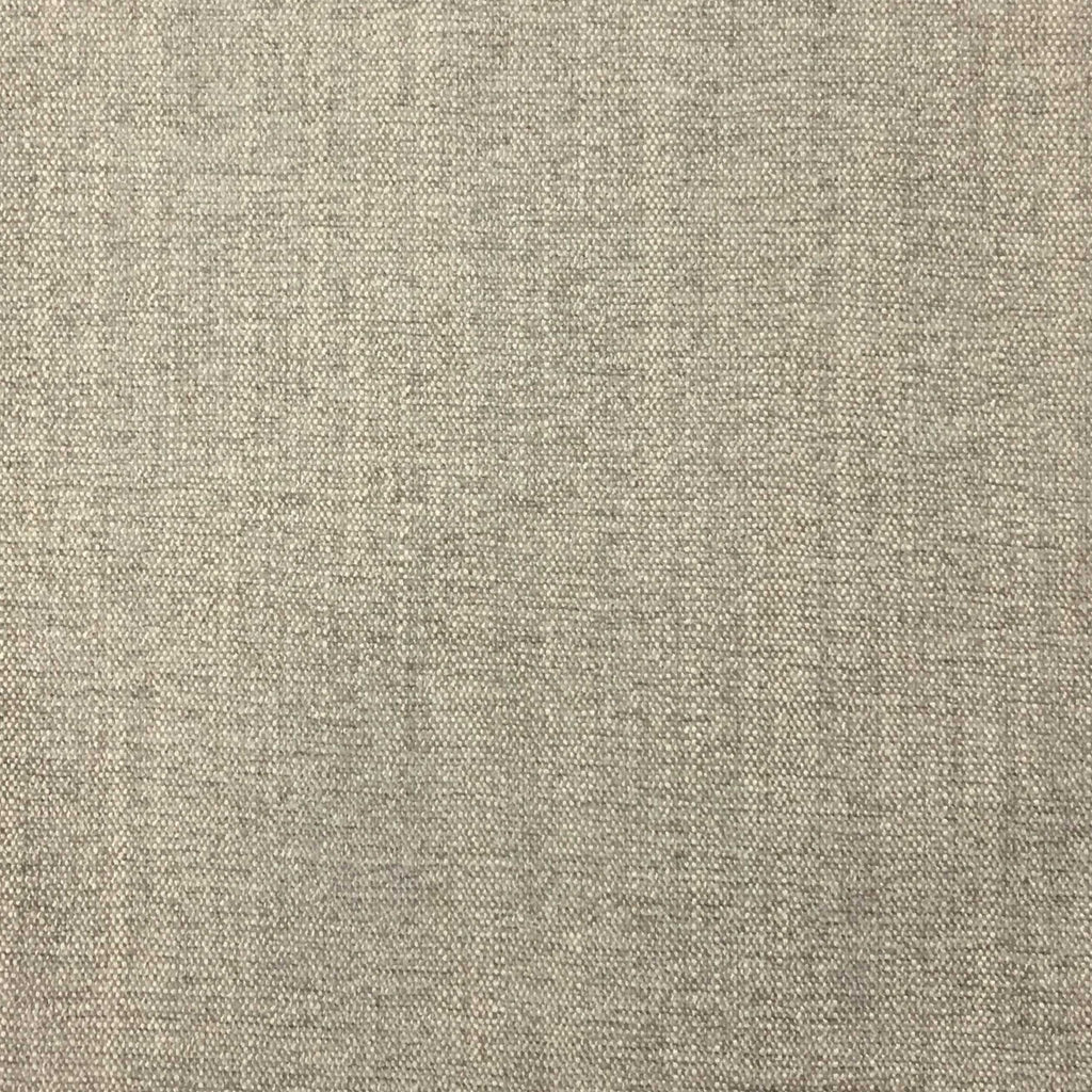 Bronson - Linen Polyester Blend Textured Chenille Upholstery Fabric by the Yard - Available in 25 Colors - Feather - Top Fabric - 14
