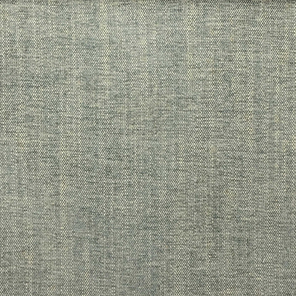 Bronson - Linen Polyester Blend Textured Chenille Upholstery Fabric by the Yard - Available in 25 Colors - Glacier - Top Fabric - 1