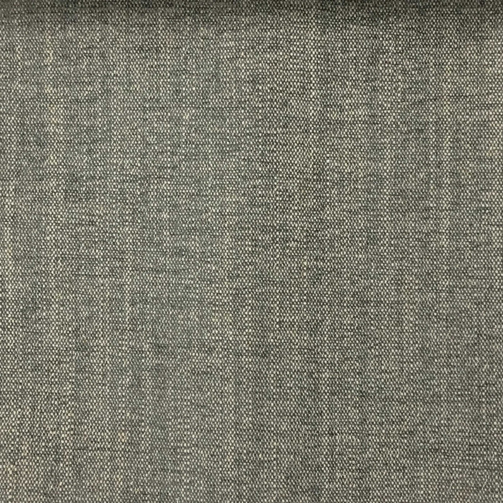 Bronson - Linen Polyester Blend Textured Chenille Upholstery Fabric by the Yard - Available in 25 Colors - Gravel - Top Fabric - 8
