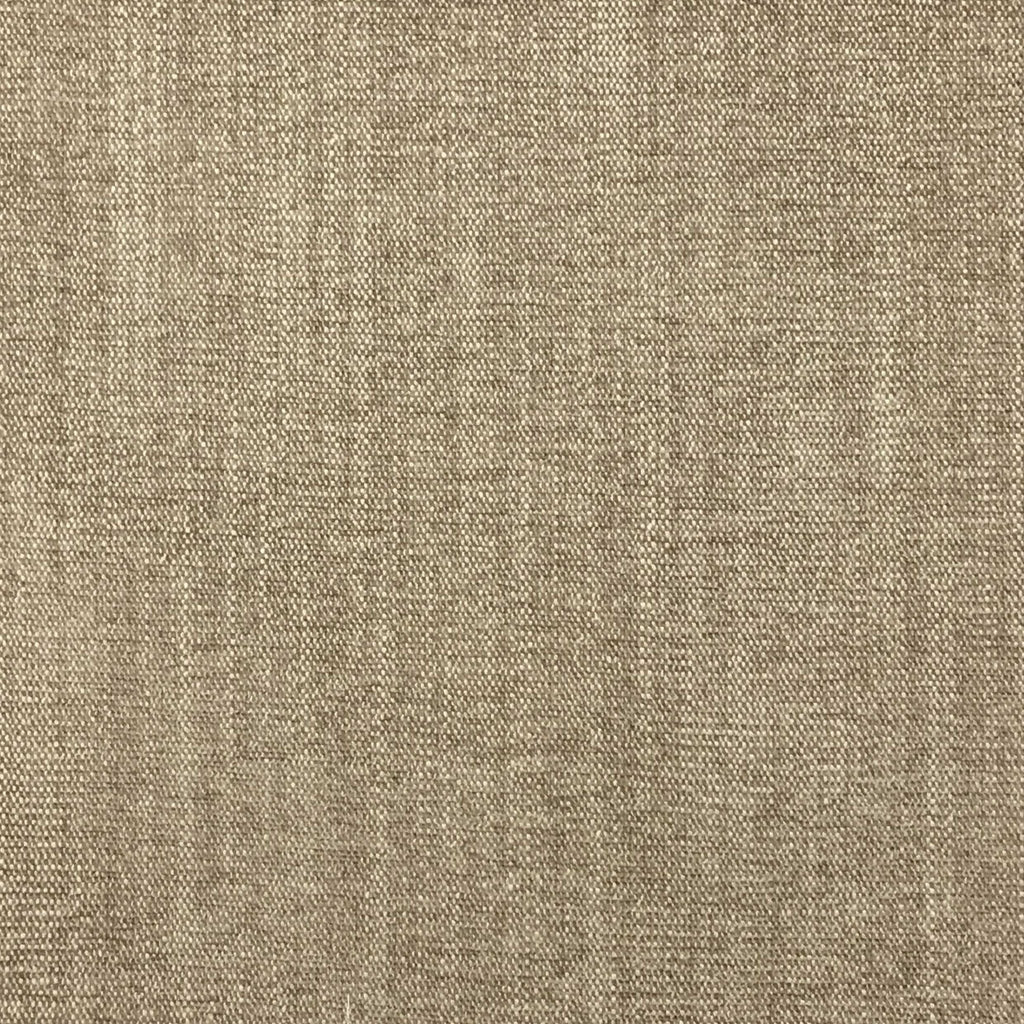 Bronson - Linen Polyester Blend Textured Chenille Upholstery Fabric by the Yard - Available in 25 Colors - Linen - Top Fabric - 15