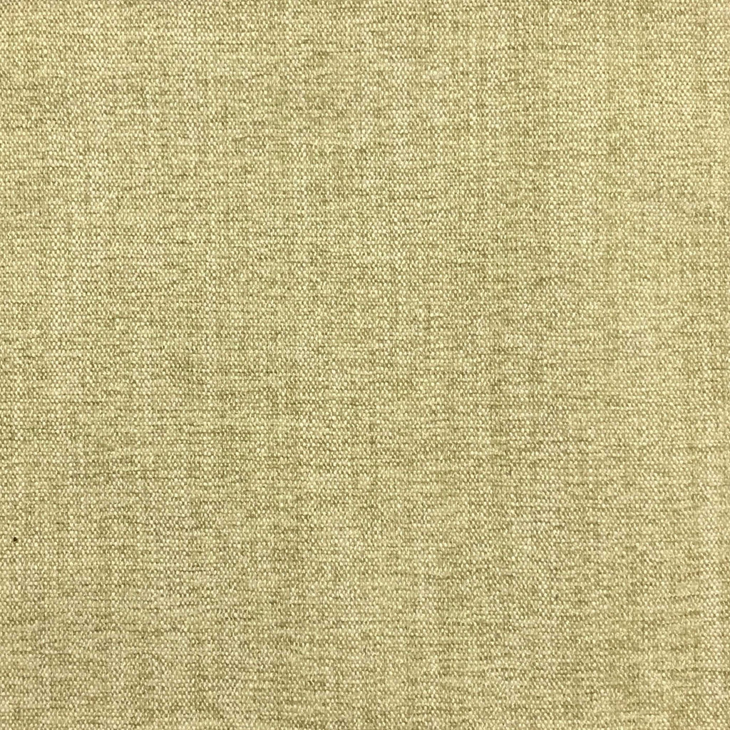 Bronson - Linen Polyester Blend Textured Chenille Upholstery Fabric by the Yard - Available in 25 Colors - Meadow - Top Fabric - 19