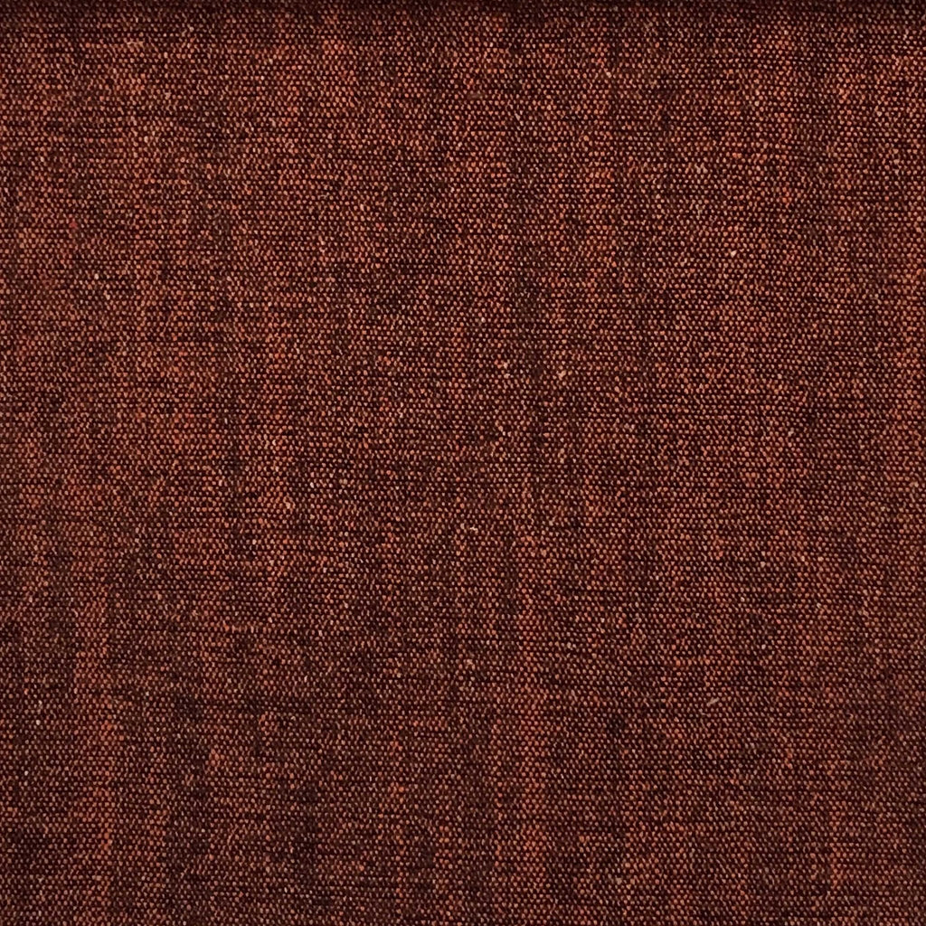 Bronson - Linen Polyester Blend Textured Chenille Upholstery Fabric by the Yard - Available in 25 Colors - Oxblood - Top Fabric - 23