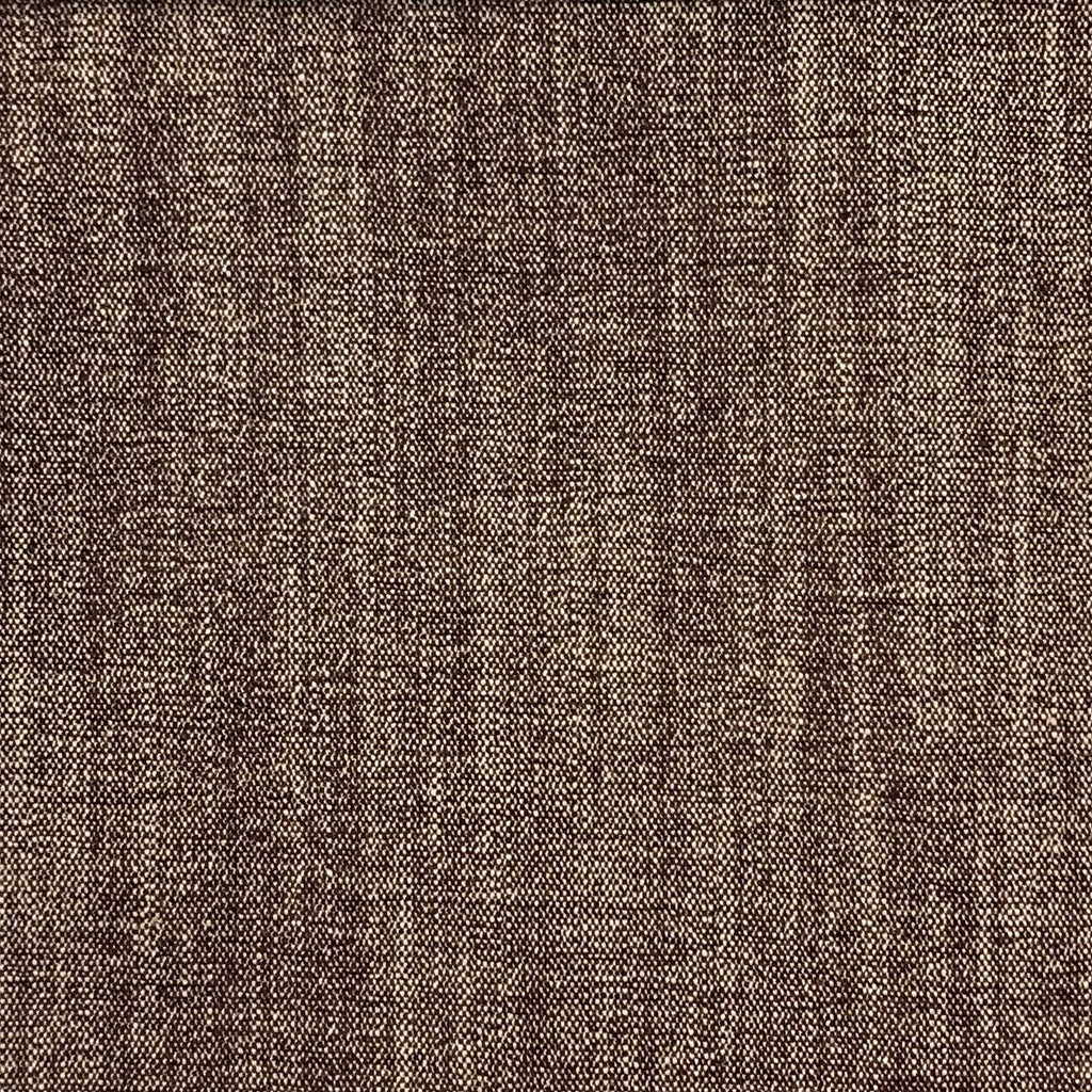Bronson - Linen Polyester Blend Textured Chenille Upholstery Fabric by the Yard - Available in 25 Colors - Raisin - Top Fabric - 11