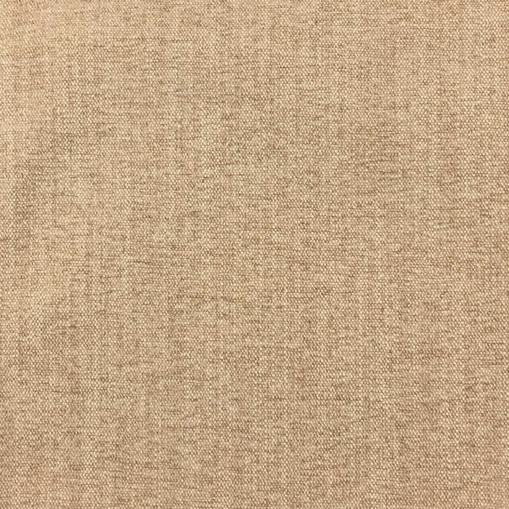 Bronson - Linen Polyester Blend Textured Chenille Upholstery Fabric by the Yard - Available in 25 Colors - Sesame - Top Fabric - 17