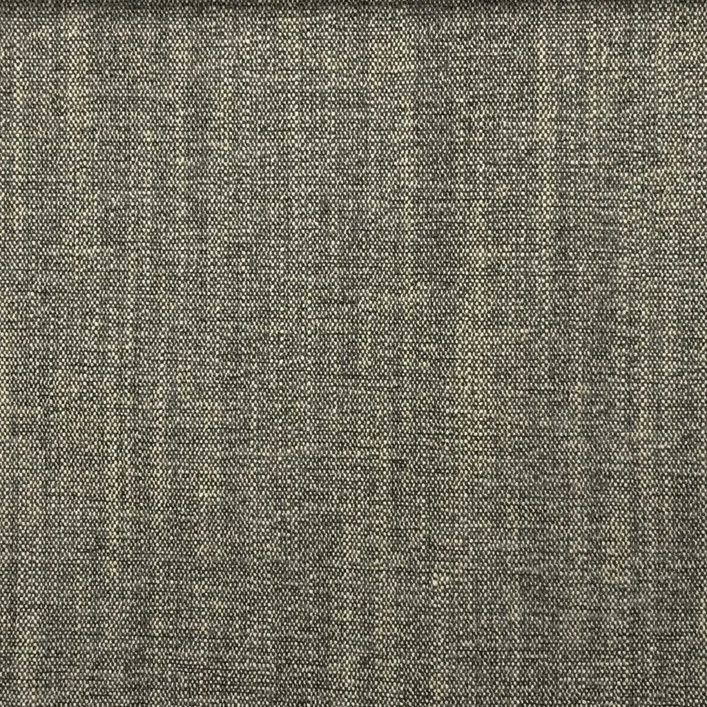 Bronson - Linen Polyester Blend Textured Chenille Upholstery Fabric by the Yard - Available in 25 Colors - Storm - Top Fabric - 10