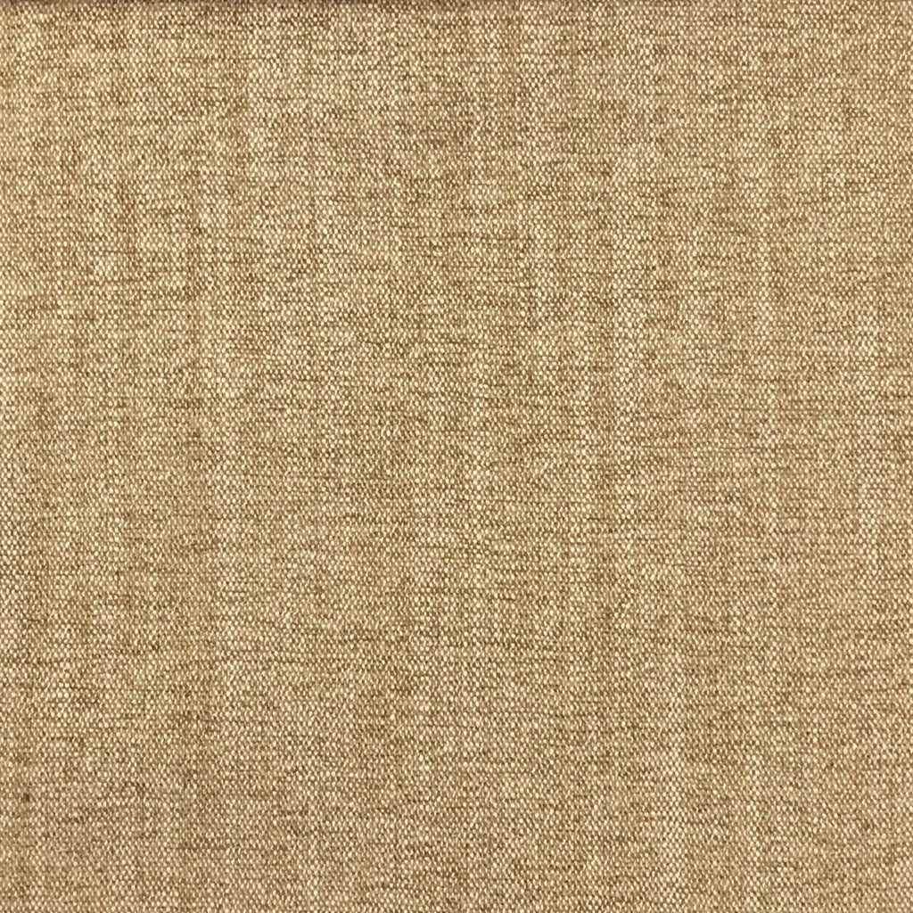 Bronson - Linen Polyester Blend Textured Chenille Upholstery Fabric by the Yard - Available in 25 Colors - Straw - Top Fabric - 16