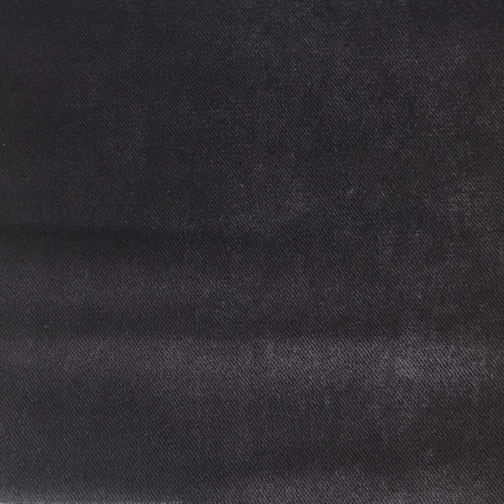 Byron - Premium Plush Sateen Velvet Upholstery Fabric by the Yard - Available in 49 Colors - Amethyst - Top Fabric - 19