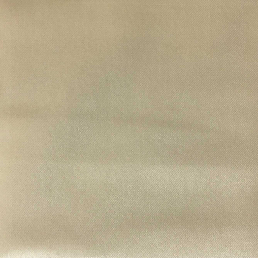 Byron - Premium Plush Sateen Velvet Upholstery Fabric by the Yard - Available in 49 Colors - Parchment - Top Fabric - 39