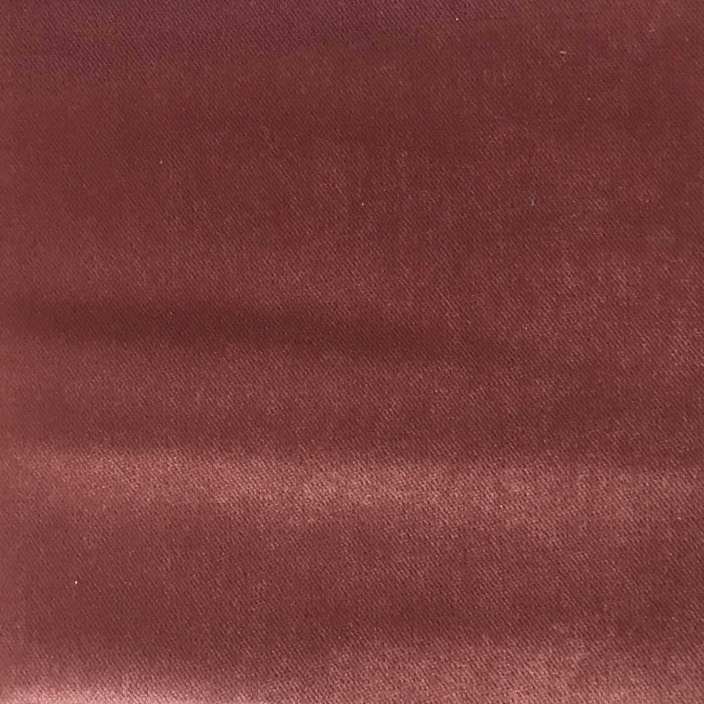Byron - Premium Plush Sateen Velvet Upholstery Fabric by the Yard - Available in 49 Colors - Rosequartz - Top Fabric - 21