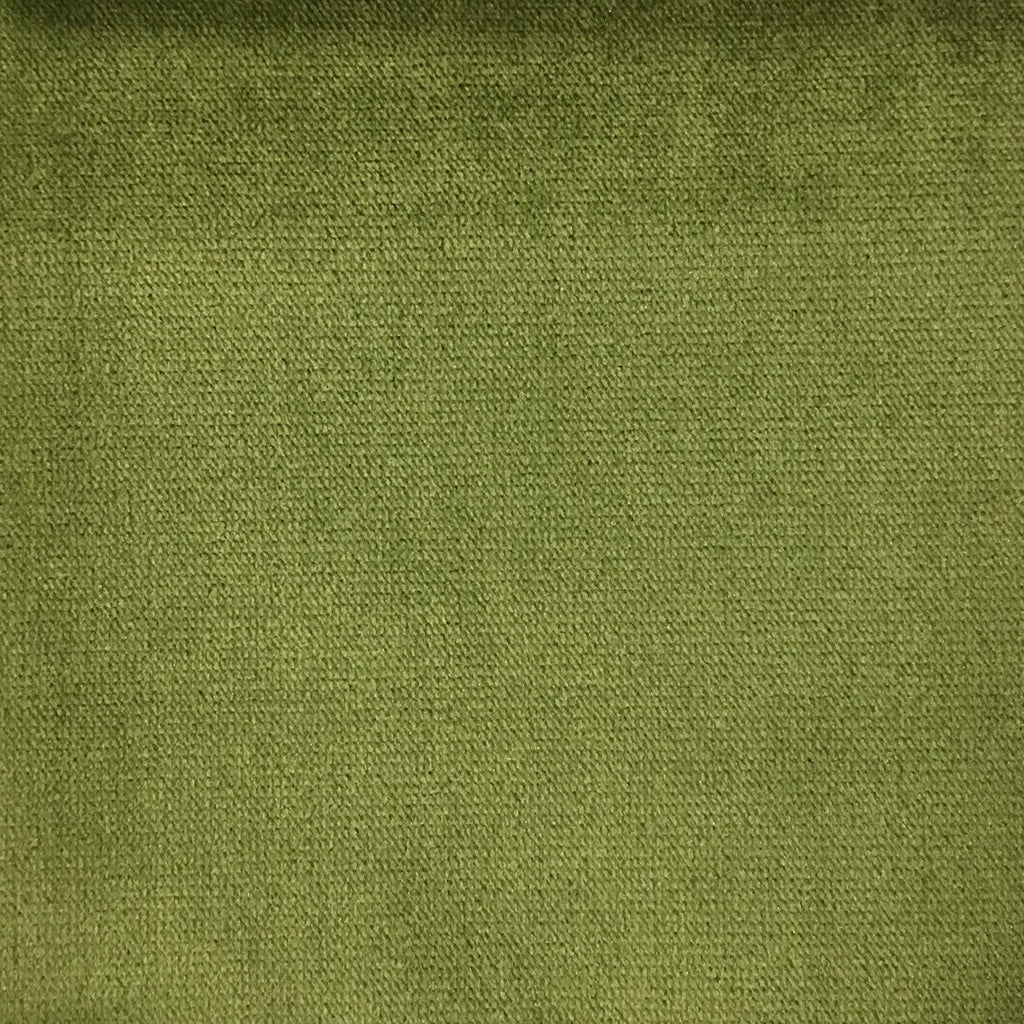 Byron - Premium Plush Sateen Velvet Upholstery Fabric by the Yard - Available in 49 Colors - Aloe - Top Fabric - 14
