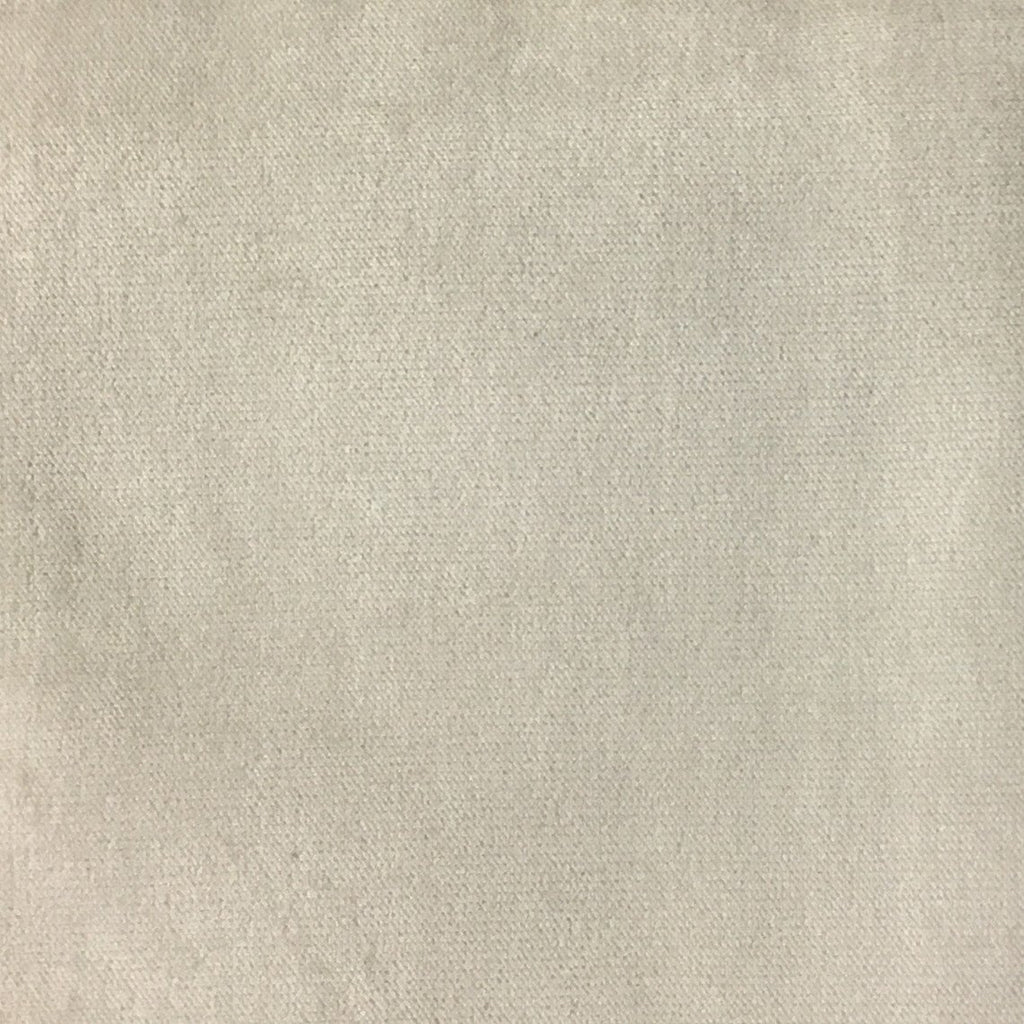 Byron - Premium Plush Sateen Velvet Upholstery Fabric by the Yard - Available in 49 Colors - Beach - Top Fabric - 40