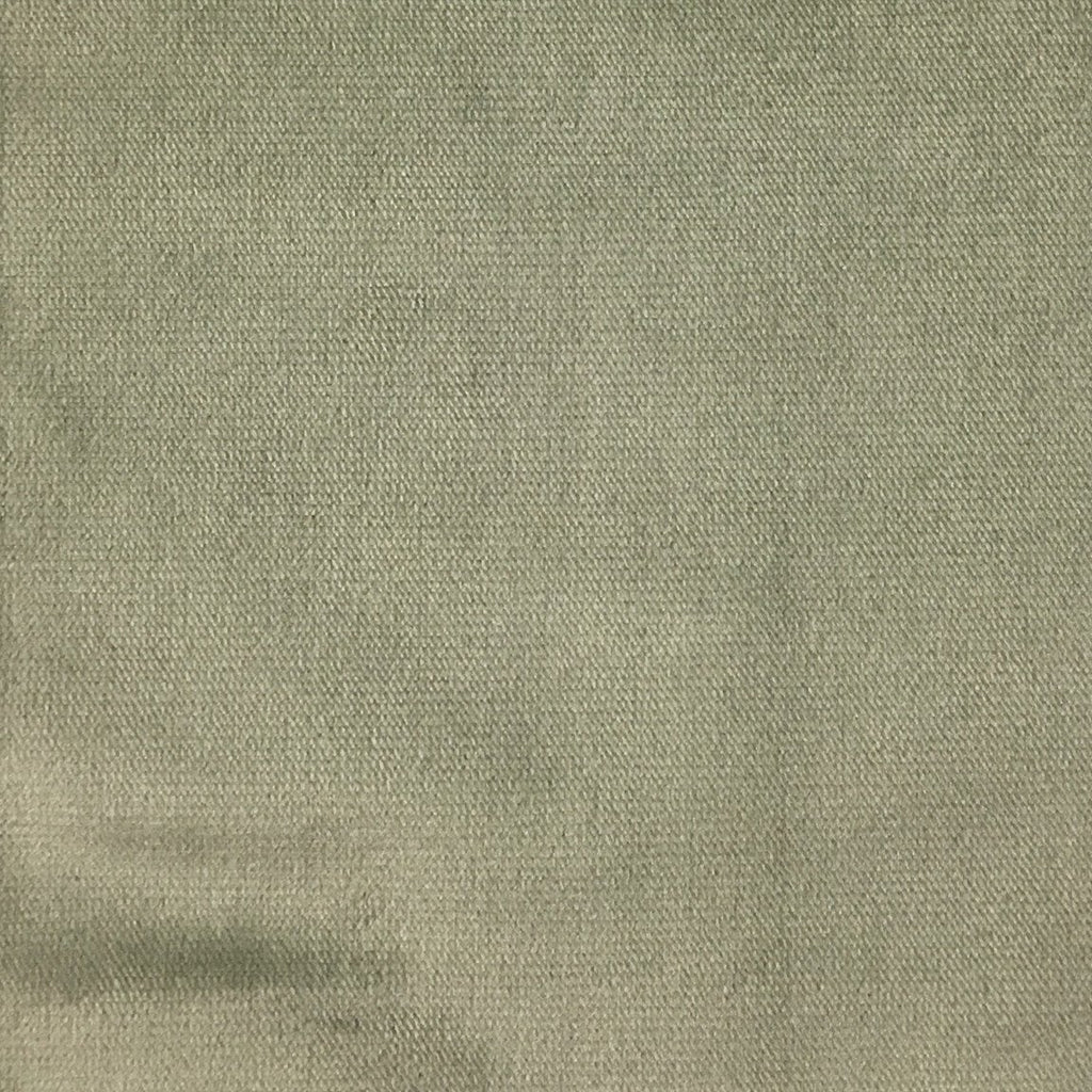 Byron - Premium Plush Sateen Velvet Upholstery Fabric by the Yard - Available in 49 Colors - Cement - Top Fabric - 35
