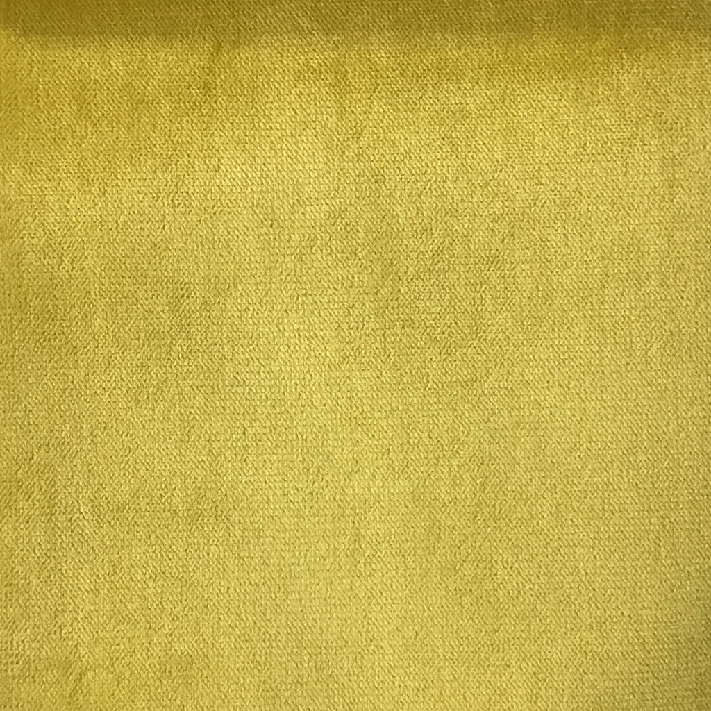 Byron - Premium Plush Sateen Velvet Upholstery Fabric by the Yard - Available in 49 Colors - Curry - Top Fabric - 10