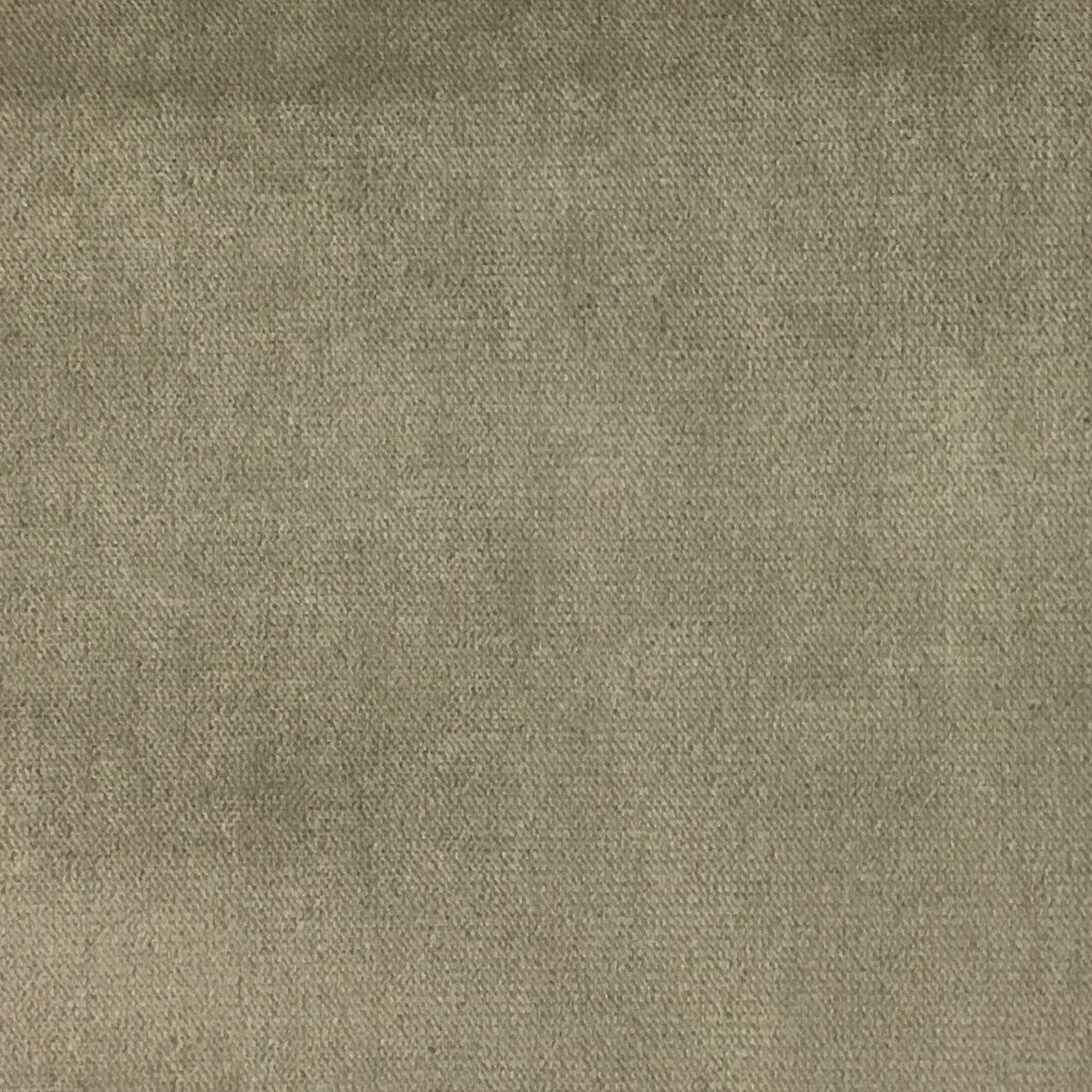Byron - Premium Plush Sateen Velvet Upholstery Fabric by the Yard - Available in 49 Colors - Driftwood - Top Fabric - 36