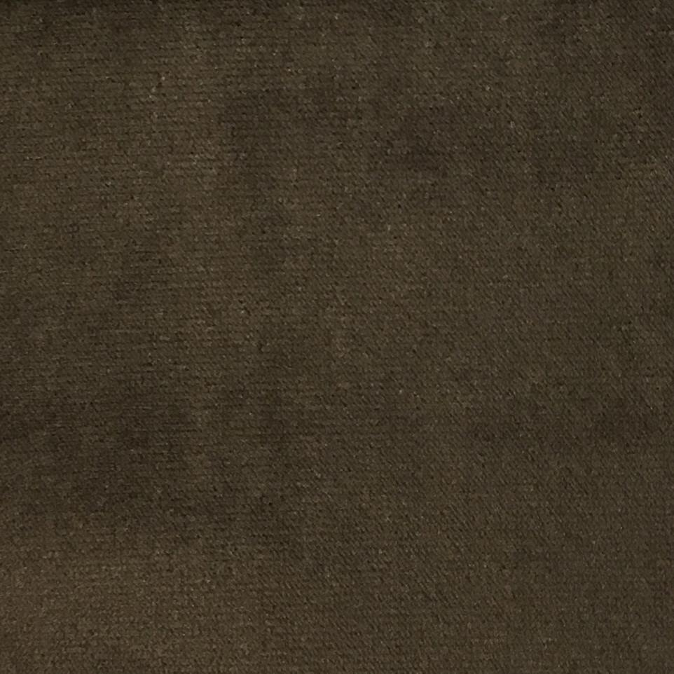 Byron - Premium Plush Sateen Velvet Upholstery Fabric by the Yard - Available in 49 Colors - Espresso - Top Fabric - 31