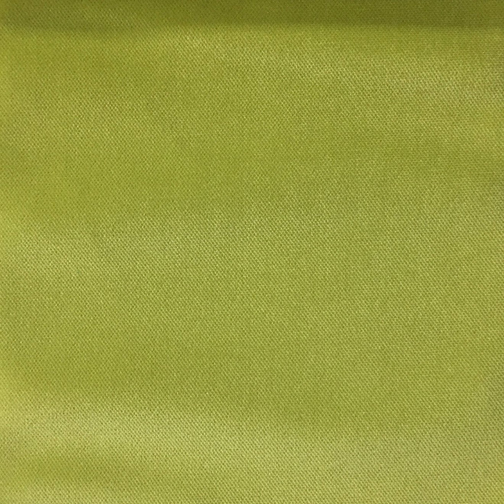 Byron - Premium Plush Sateen Velvet Upholstery Fabric by the Yard - Available in 49 Colors - Grass - Top Fabric - 13