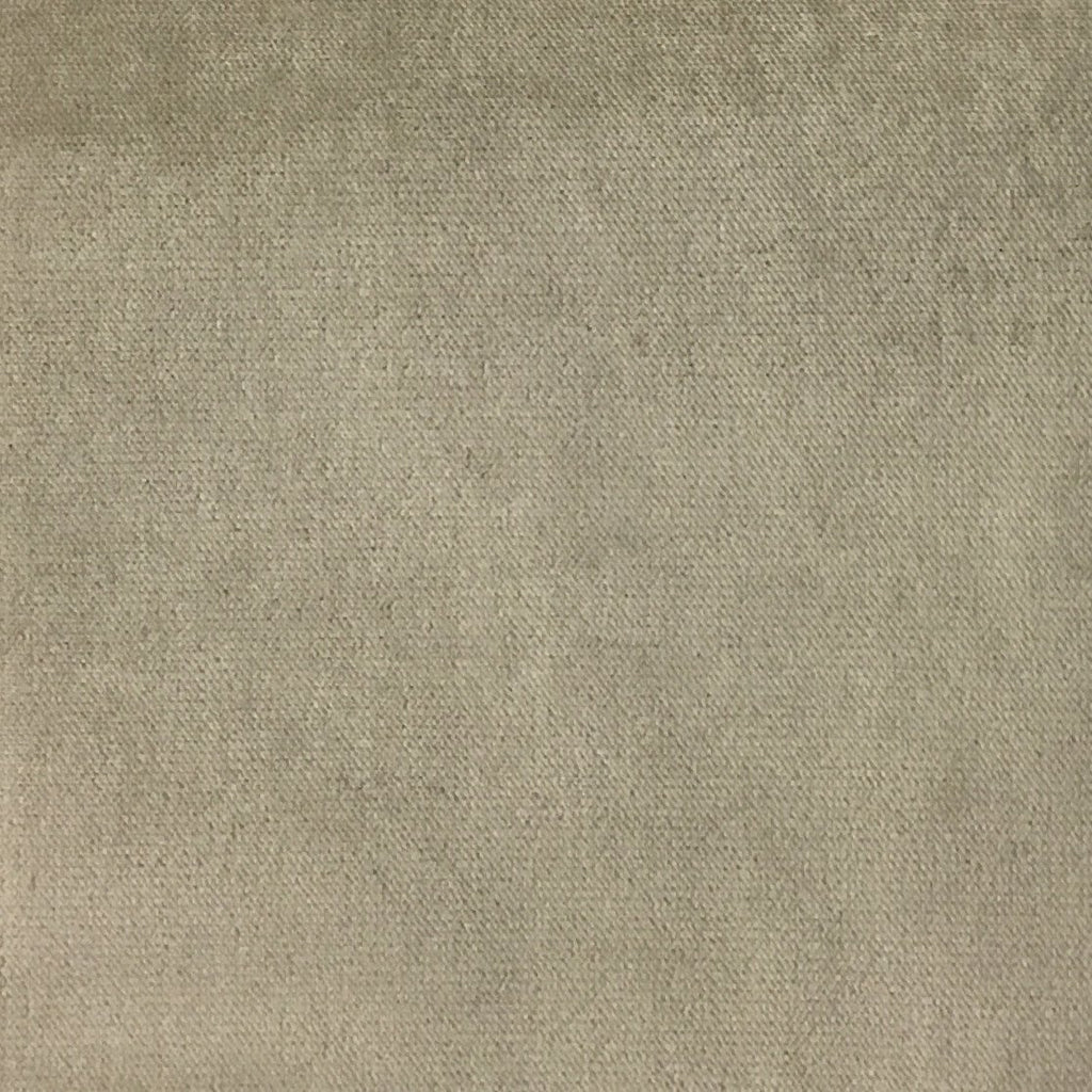 Byron - Premium Plush Sateen Velvet Upholstery Fabric by the Yard - Available in 49 Colors - Linen - Top Fabric - 37
