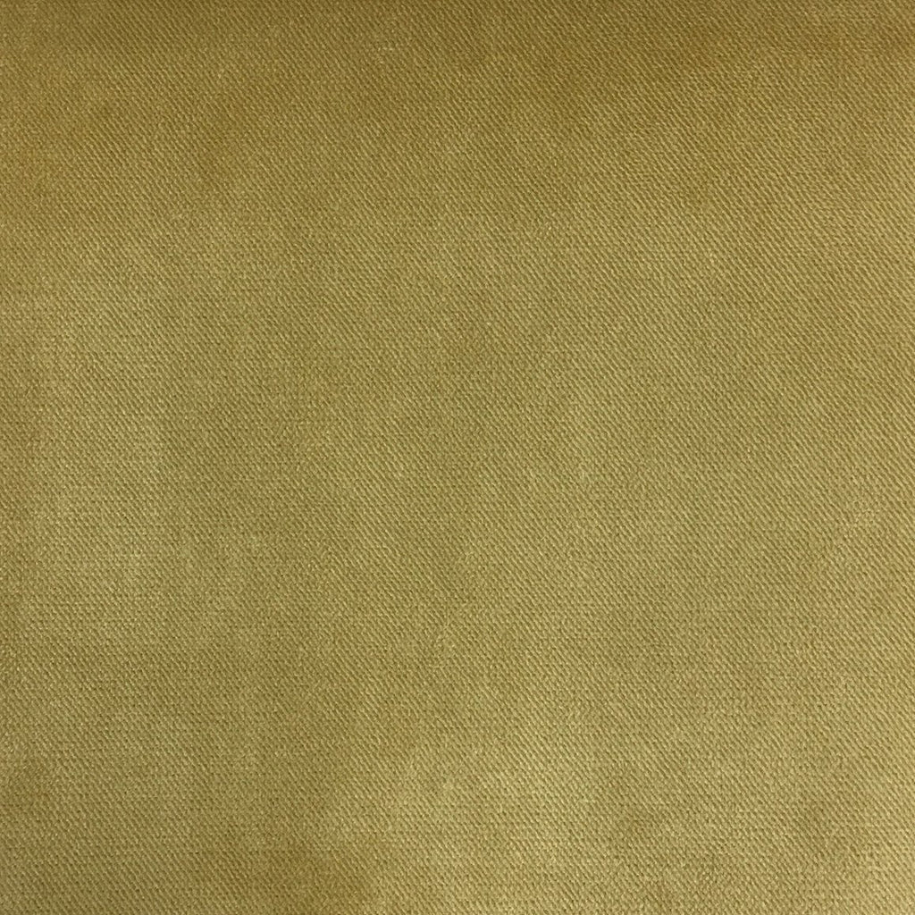 Byron - Premium Plush Sateen Velvet Upholstery Fabric by the Yard - Available in 49 Colors - Maize - Top Fabric - 11
