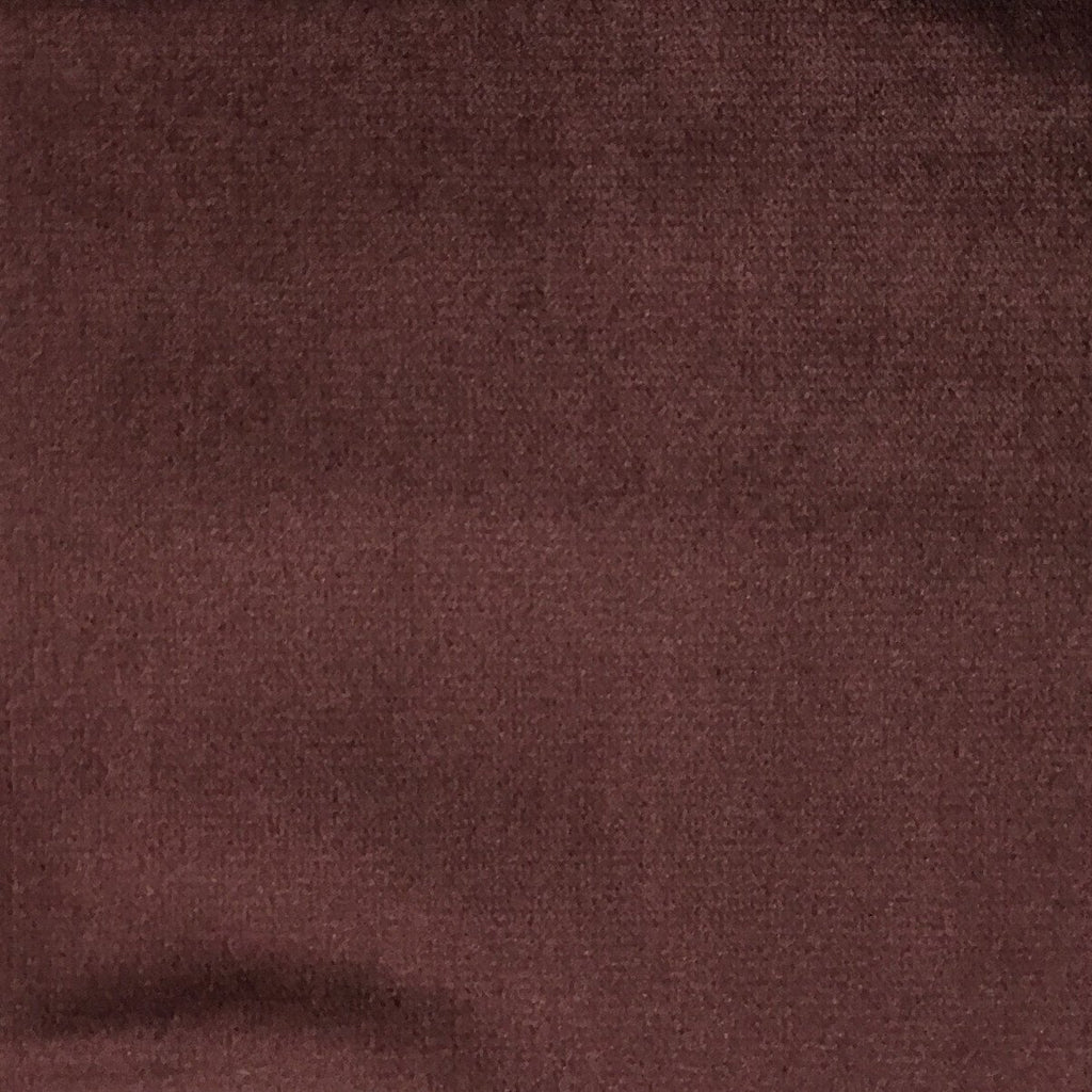 Byron - Premium Plush Sateen Velvet Upholstery Fabric by the Yard - Available in 49 Colors - Marsala - Top Fabric - 20