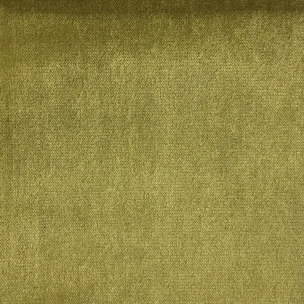 Byron - Premium Plush Sateen Velvet Upholstery Fabric by the Yard - Available in 49 Colors - Meadow - Top Fabric - 12