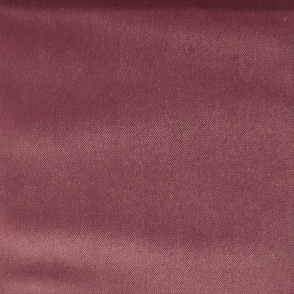 Byron - Premium Plush Sateen Velvet Upholstery Fabric by the Yard - Available in 49 Colors - Orchid - Top Fabric - 22