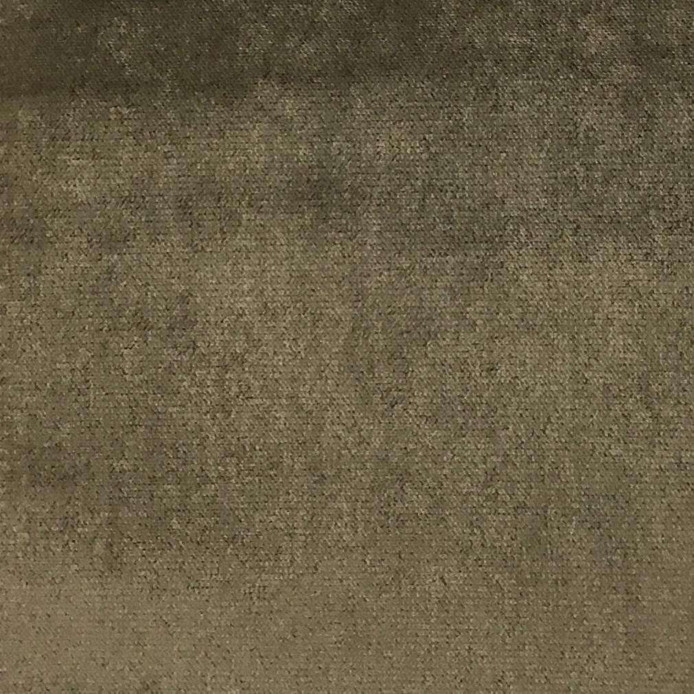 Byron - Premium Plush Sateen Velvet Upholstery Fabric by the Yard - Available in 49 Colors - Otter - Top Fabric - 34