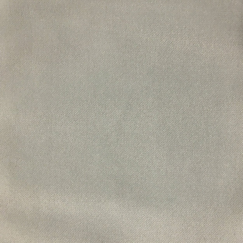 Byron - Premium Plush Sateen Velvet Upholstery Fabric by the Yard - Available in 49 Colors - Rain - Top Fabric - 44