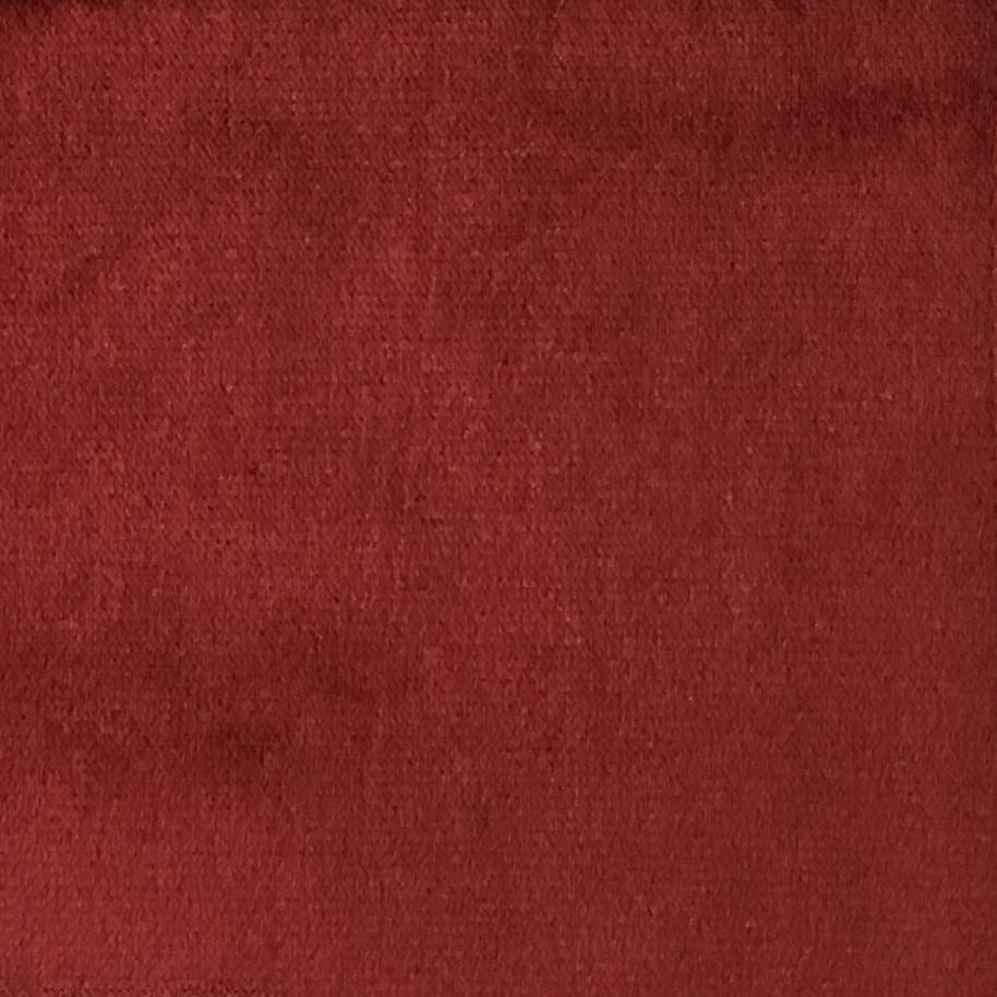 Byron - Premium Plush Sateen Velvet Upholstery Fabric by the Yard - Available in 49 Colors - Sangria - Top Fabric - 30