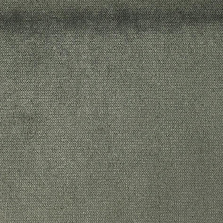 Byron - Premium Plush Sateen Velvet Upholstery Fabric by the Yard - Available in 49 Colors - Smoke - Top Fabric - 47