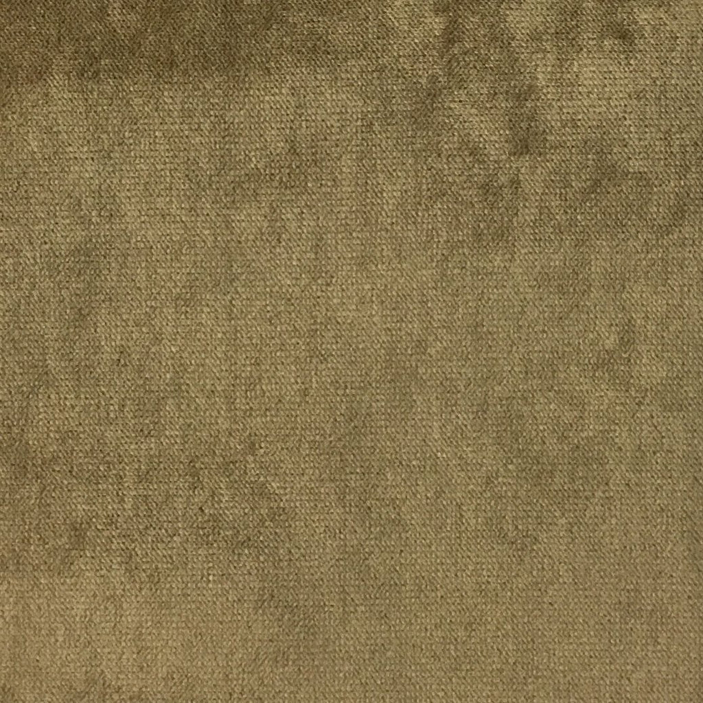 Byron - Premium Plush Sateen Velvet Upholstery Fabric by the Yard - Available in 49 Colors - Tiger's Eye - Top Fabric - 33
