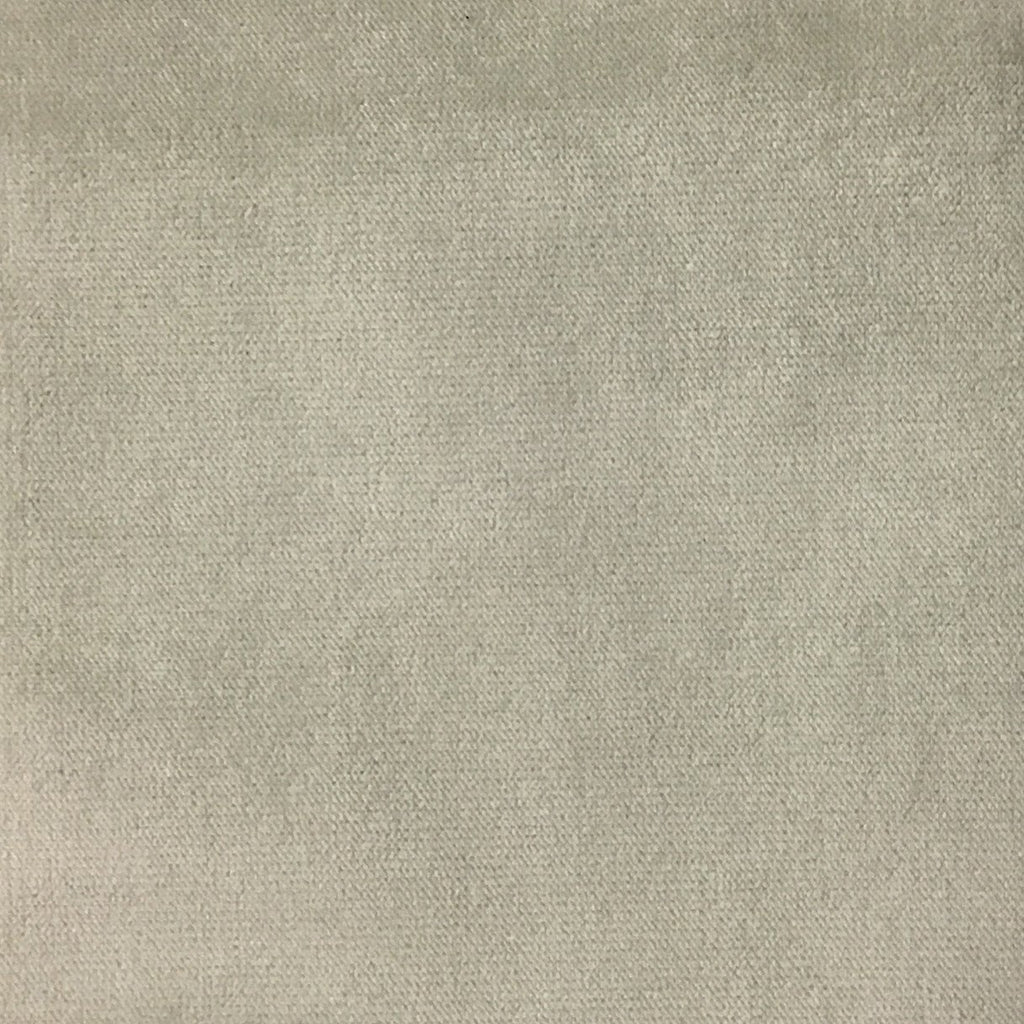 Byron - Premium Plush Sateen Velvet Upholstery Fabric by the Yard - Available in 49 Colors - Whisper - Top Fabric - 38