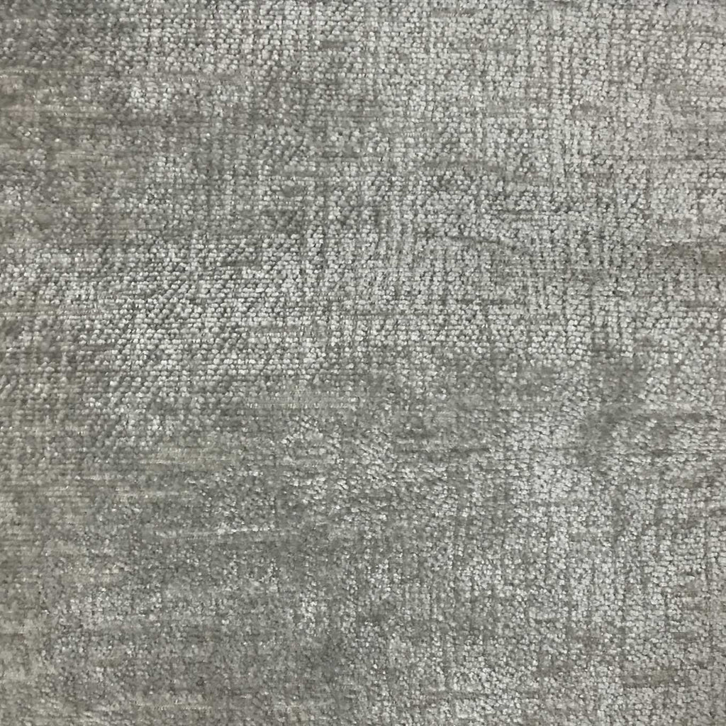 Cardinal - Chenille Upholstery Fabric by the Yard - Available in 16 Colors - Elephant - Top Fabric - 12