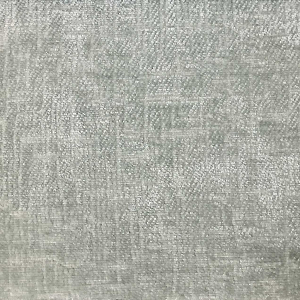Cardinal - Chenille Upholstery Fabric by the Yard - Available in 16 Colors - Glacier - Top Fabric - 10
