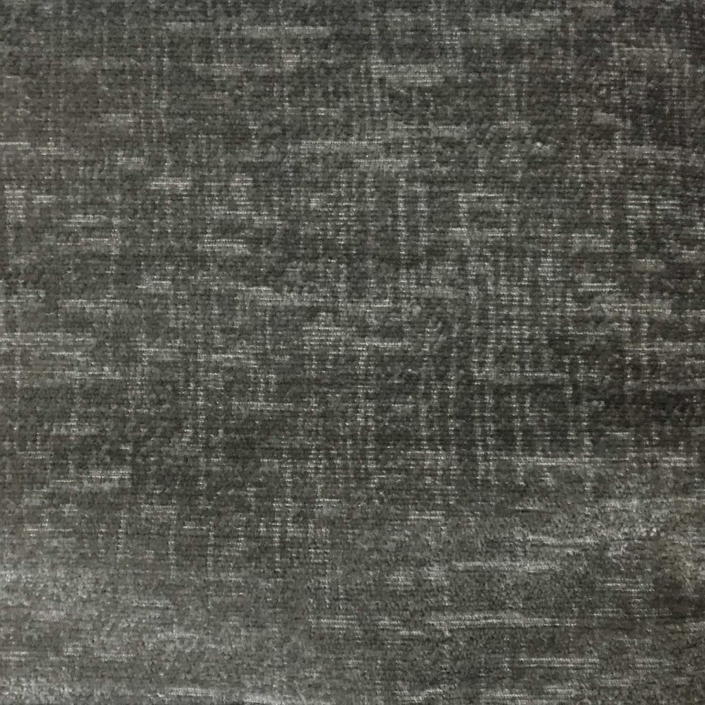 Cardinal - Chenille Upholstery Fabric by the Yard - Available in 16 Colors - Gunmetal - Top Fabric - 14