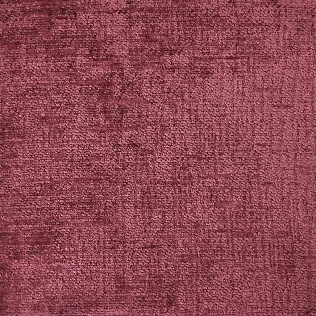 Cardinal - Chenille Upholstery Fabric by the Yard - Available in 16 Colors - Sangria - Top Fabric - 7